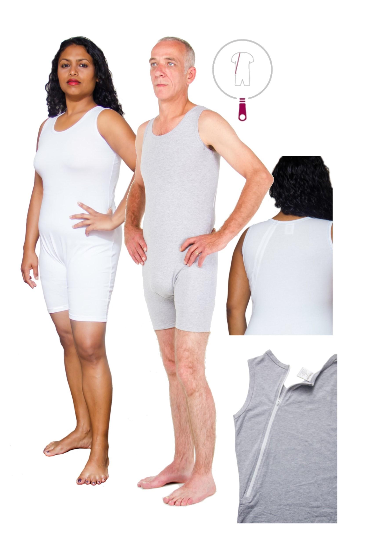 2ed4f8261c Pflegebody 9096 Rückenreißverschluss ohne Arm | Medicare