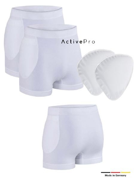 ActivePro Hüftschutz Set | 2 x Slip + Protektoren