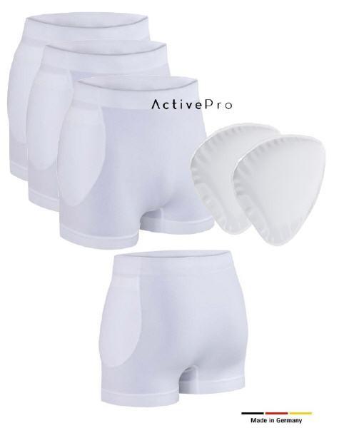 ActivePro Hüftschutz Set | 3 x Slip + Protektoren