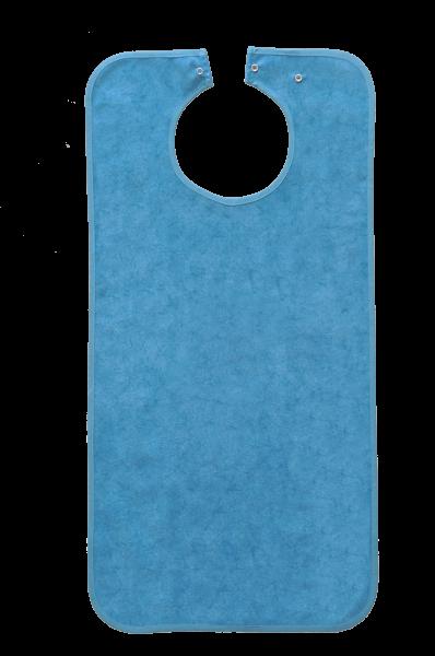 Ess-Schürze Polyester mit Druckknopfverschluss, batikblau 5576