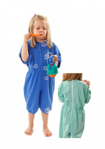 Kinderpflegeoverall Cillys kurz