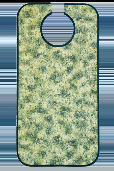 Ess-Schürze Polyester mit Druckknopfverschluss, grün 5582 Suprima