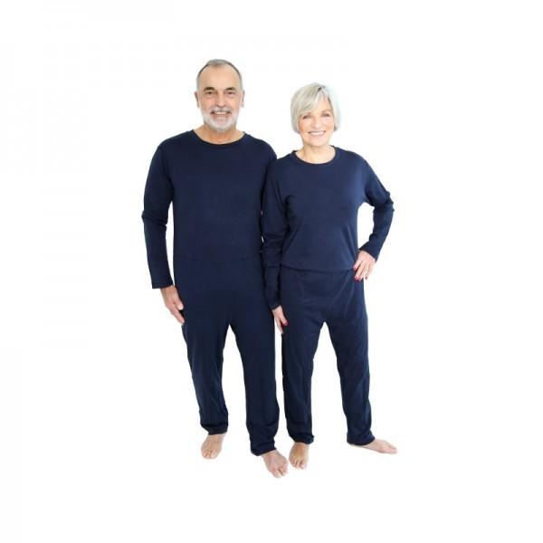 Pflegeoverall relax mit Beinreißverschluss ActivPro