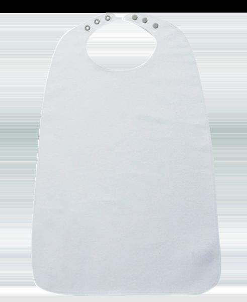 Ess-Schürze Frottee mit Druckverschluss 5058