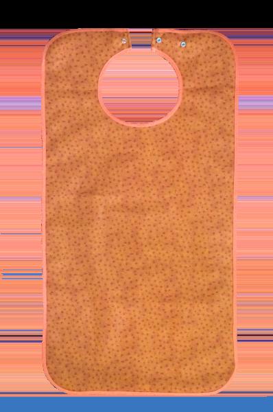Ess-Schürze Polyester mit Druckknopfverschluss, terrakotta 5575